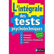 L'Intégrale des Test Psychotechniques 2016