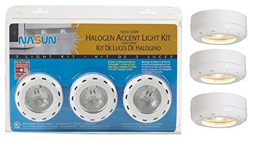 Halogen White Puck Light - 2