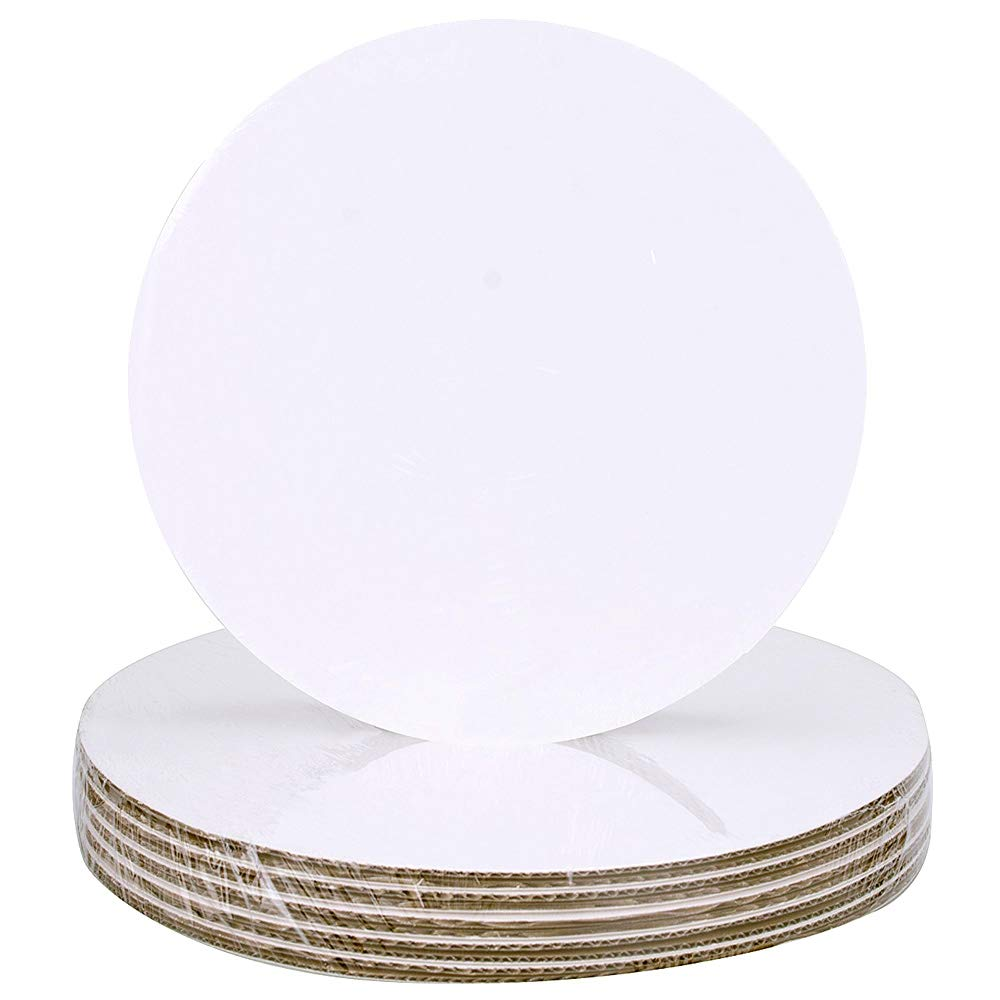Cake Board Circle 9'', Count of 25