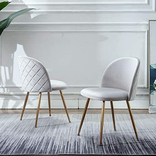 Modern Velvet Dining Chair