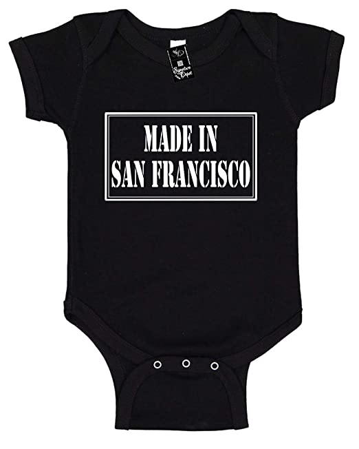 Made in San Francisco Bodysuit Onesie Infant