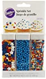 Wilton 710-2082 Primary Sprinkle Set, 3.83-Ounce, Health Care Stuffs