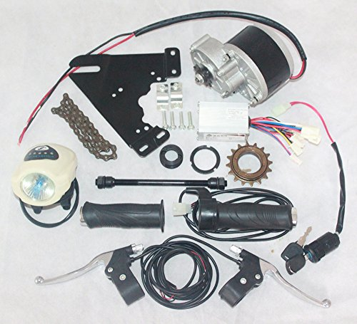 24V 250W Electric Motorized E-Bike Bicycle Conversion Kit(SIDE-MOUNTED)  Electric Bicycle Motor Kit Cheapest E-Bike Brushed Motor Set MY1016