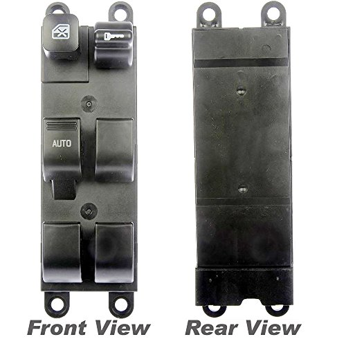 APDTY 012911 Power Window and Door Lock Switch Fits Front Left 1998-2001 Nissan Altima 1998-2004 Frontier 98-99 Sentra 00-04 Xterra Legacy Outback 03-06 Subaru Baja (Replaces 25401-9E000, 83071AE01B)
