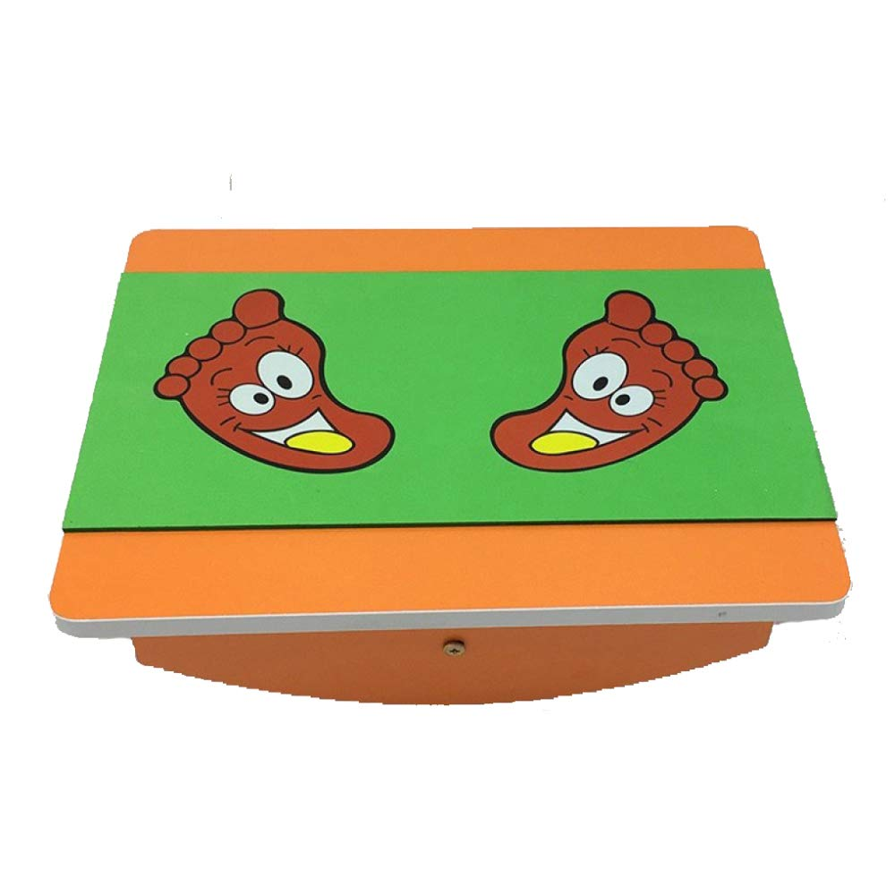 5 Equilibrio Bordo Fitness Per Bambini Equilibrio Asilo Senso Formazione Attrezzature Per Bambini Giocattoli Tavolo Da Biliardo In Legno, 2