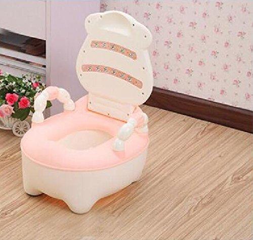DJ Enfants tiroir vache toilette fille pot bébé garçons petite toilette WC , pink