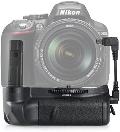 SAMTIAN BG-2G Empuñadura Pro para Nikon D5100 D5200 D5300 ...