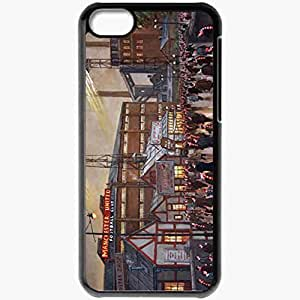 XiFu*MeiPersonalized iphone 4/4s Cell phone Case/Cover Skin Old Traford Manchester United Football BlackXiFu*Mei