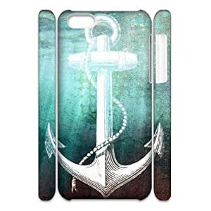 Sailor Anchor Customized 3D Cover Case for Iphone 5C,custom phone case ygtg575628 by supermalls