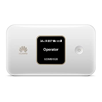 Huawei E5785Lh-22c 300 Mbps 4G LTE Mobile WiFi (4G LTE in Europe, Asia,  Middle East, Africa & 3G Globally  12 hrs Working, Original OEM Item)  (White)