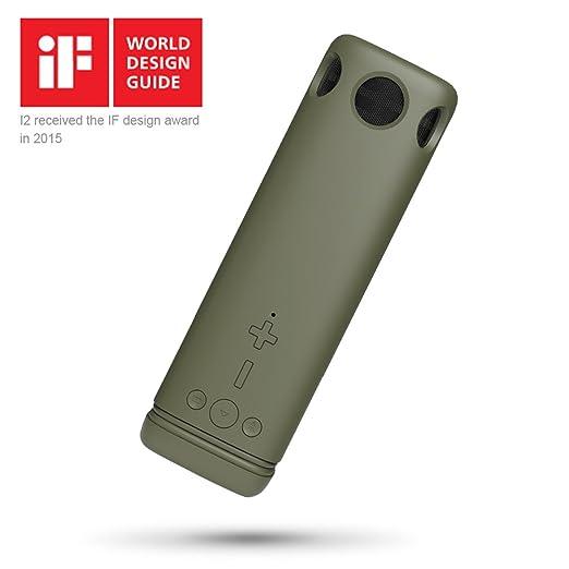 14 opinioni per Puridea I2 Altoparlante Bluetooth portatile ricaricabile , bluetooth boxe