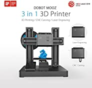 Dobot DB-MZ001 Mooz 3D PRINTER 3 In 1 Industrial Grade Transformable Metallic, Support CNC and Laser Engraving, Free PLA Fil