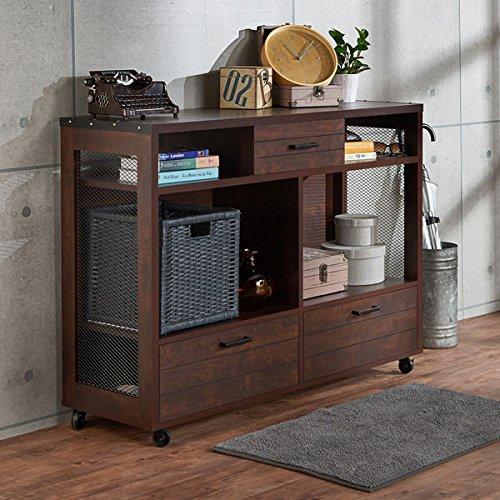 Furniture Of America Misenia Industrial Style Vintage