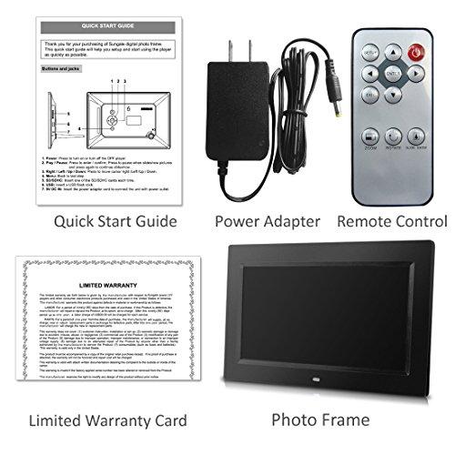 Amazon.com : 10 inch Digital Photo Frame with Remote Control, High ...