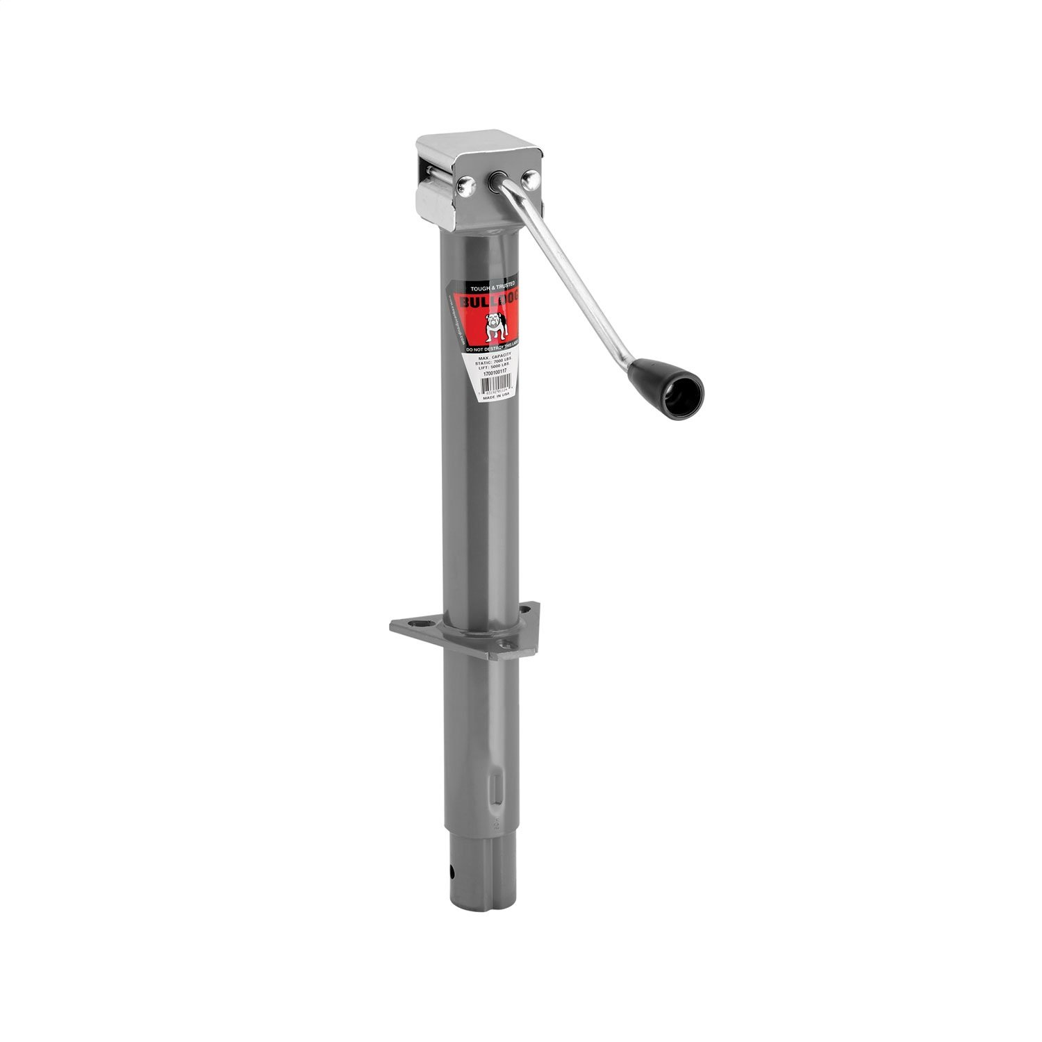 Bulldog 1700100317 A-Frame Trailer Jack by Bulldog