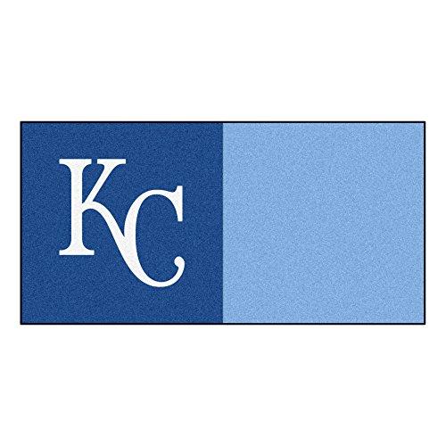 FANMATS MLB Kansas City Royals Nylon Face Team Carpet - City Carpet Tiles Kansas