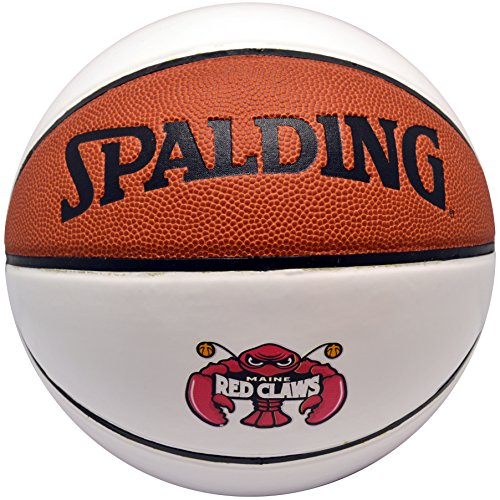Spalding Autograph (Spalding NBA Autograph Basketball Maine Red Claws Leather Ball)