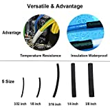 270pcs 3:1 Dual Wall Adhesive Heat Shrink Tubing