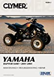 Yamaha Raptor 660R, 2001-2005, Jay Bogart and Clymer Publications Staff, 0892879343