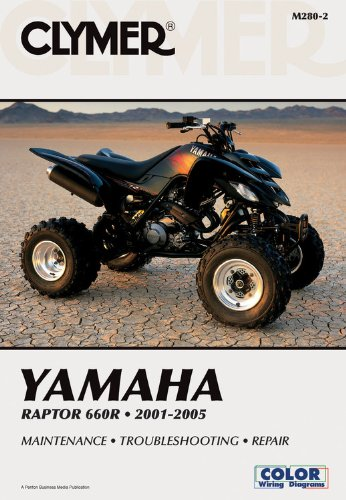 Yamaha Raptor 660R 2001-2005 (Clymer Motorcycle Repair, Vendor Id M280-2)