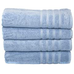 Indulge yourself in a spa-like premium bamboo towels, made exclusively from Organic Bamboo Viscose and Aegean Turkish Cotton. Bamboo is one of the most earth friendly resources that is highly renewable and self-replenishing. I...