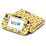 Lemon Apple Pear Orange Fruit Pattern Decorative Decal Cover Skin for Nintendo Wii U Console and GamePad