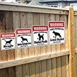 Alaskan Malamute Security Sign Area Patrolled pet Warning Veterinary Assistant 9