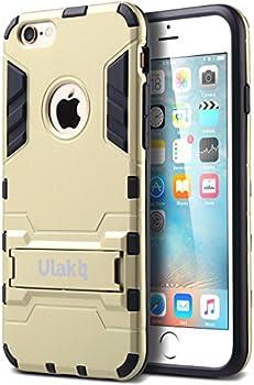 ULAK iPhone 6/6s Hybrid Hard Stand Case