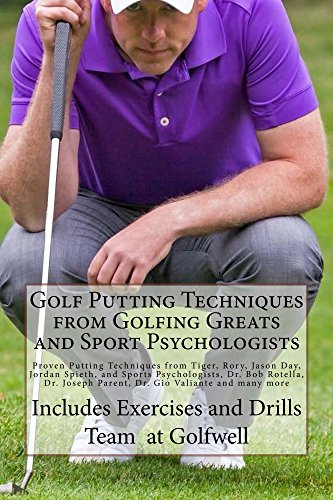 Golf Putting Techniques from Golfing Greats and Sport, used for sale  Delivered anywhere in USA
