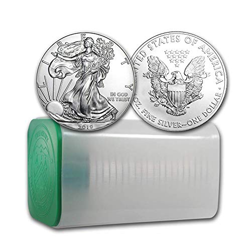 2019 Lot of (20) 1-Ounce American Silver Eagle Brilliant Uncirculated