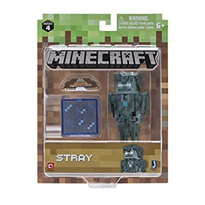 Minecraft Stray Figure Pack Action from Jazwares Domestic