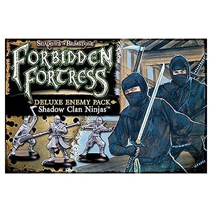 Amazon.com: Shadows of Brimstone: Shadow Clan Ninja Deluxe ...