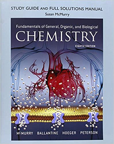 Study guide and full solutions manual for fundamentals of general study guide and full solutions manual for fundamentals of general organic and biological chemistry 8th edition fandeluxe Images