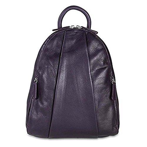 Osgoode Marley Marley Teardrop Multi Zip Backpack - Plum