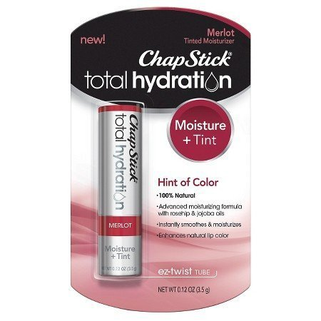ChapStick Total Hydration Merlot 0.12 oz (Pack of 2)