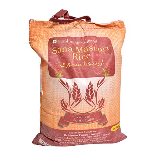 Kohinoor, Sona Masoori Rice, 20 Pound(LB) by Kohinoor