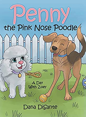 Penny the Pink Nose Poodle
