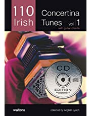 110 Irish Concertina Tunes: With Guitar Chords [With CD]