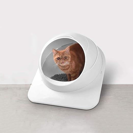 FXQIN Caja de Arena para Gatos Cubierta con Pala para Basura ...