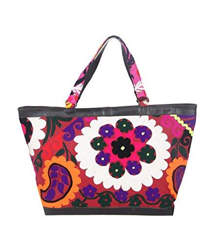 Jaipur Textile Hub Women MultiColour Cotton Hand Bag