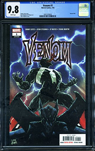 Venom #1 - CERTIFIED CGC 9.8 - First Print Edition - First Issue - Marvel Comics
