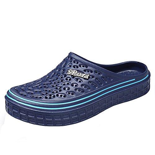 de Unisexe Sandales Femme Plage Chaussures Salle de Été Jardin Foncé Bleu Gaatpot Piscine Bains de Homme Chaussures Chaussons H4wqA4fx1