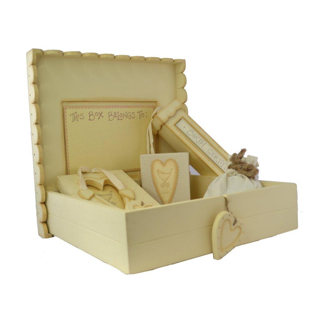 East of India Taufgeschenk-Box für Babys