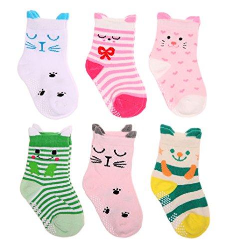 SDBING Babys Color Cotton Anti slip