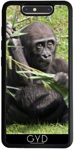 Funda Silicona para ZTE Blade V8 - Precioso Bebé Gorila by More colors in life