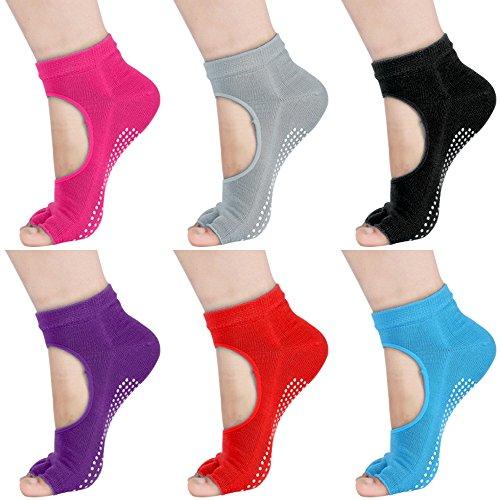 Topist Socks Plates Barre Exercise