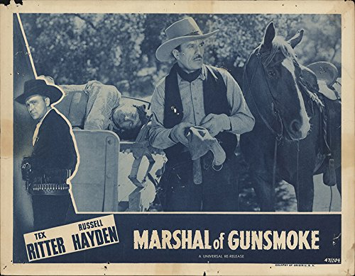 Amazon com: Marshal of Gunsmoke 1947 Authentic 11