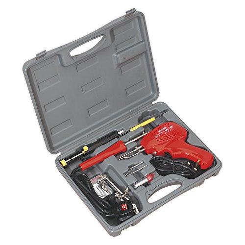 Sealey SD300K Soldering Gun/Iron Kit 8pc 230V SEASD300K
