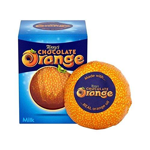Naranja Chocolate Con Leche 157 G De Terry (Paquete de 4)