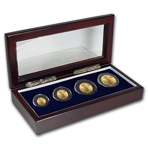 Gold Eagle Set (2017 4-Coin Gold American Eagle BU Set Brilliant Uncirculated)